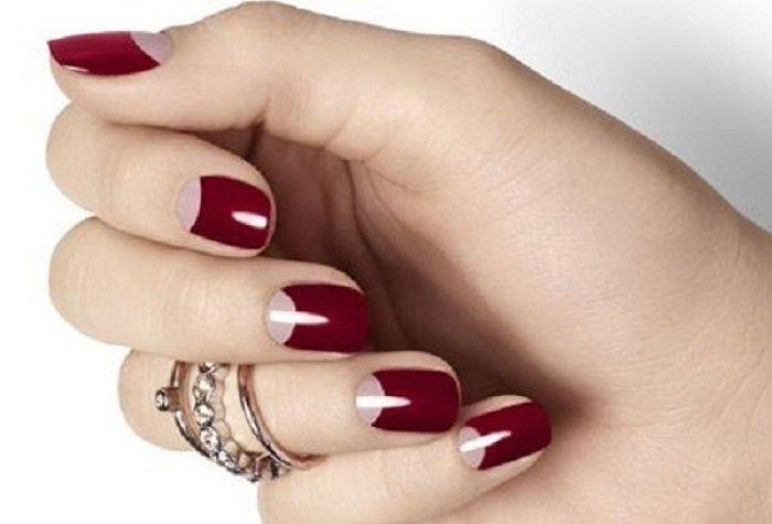 Красивые лунки на ногтях