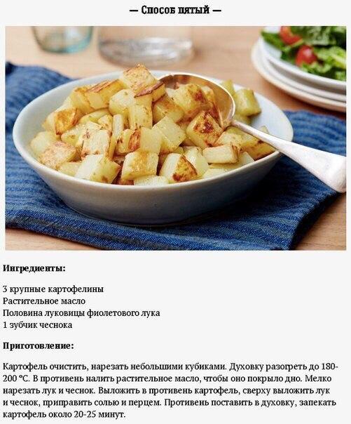 Новые рецепты картошки